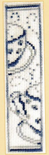 DMC Colour Variation Bookmark Cross Stitch Kit Tea Cup