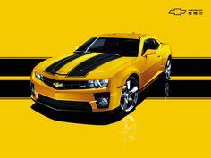 Chevrolet Camaro Yellow - Bumblebee - Transformers