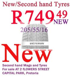 0625547113 or 0726083305 or We do swap.We sell used tyres mags