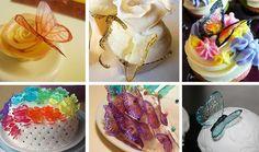 EAT MORE CAKE: Criações com Gelatina - Borboletas