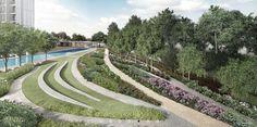 Principal Garden amphitheatre http://www.newlaunchonline.com.sg/principal-garden-showflat/