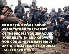 Film Director Quotes - Steven Spielberg - Movie Director Quotes #spielberg #warhorse #alltimemaster