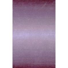 Liora Manne Ombre 9663/49 Horizon Purple Area Rug 5 Feet X 8 Feet