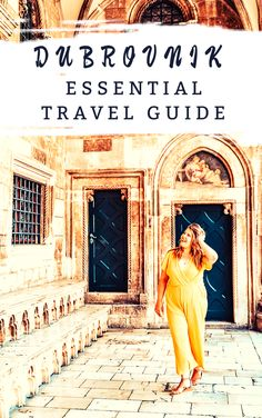 To help you find your way around Dubrovnik, this guide is filled with essential experiences in Dubrovnik that you will not want to miss! European Travel Tips, Travel Tips For Europe, European Destination, Travel Destinations, Dubrovnik Croatia, Croatia Travel, Travel Guides, Travel Advice, Travel Essentials