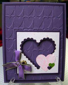 Purple Valentine--this is so pretty!!!