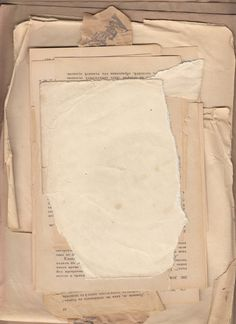 Some nice, grungy paper    http://reflected-stock.deviantart.com/art/Bunch-of-Junk-003-109251308