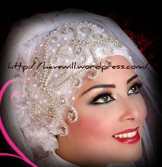New bridal hijab styles 2012! | Whatever Matters