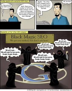 SEO Magique ;-) via Black Magic SEO