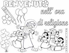 Religiocando anno scolastico 2017-2018 Coloring Pages, San, Education, Comics, School, Fictional Characters, Mamma, Aurora, Disney