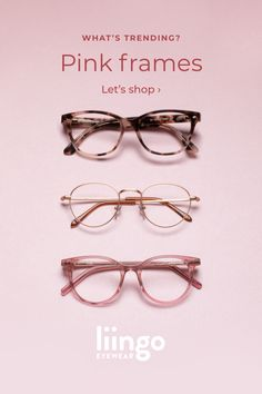 Glasses For Round Faces, Glasses For Face Shape, Cute Glasses, New Glasses, Girls With Glasses, Pink Glasses Frames, Fashion Eye Glasses, Meat Loaf, Christmas Snacks