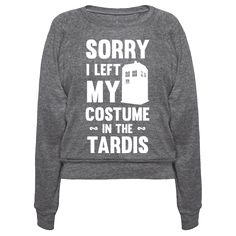 Sorry I am not wearing my Doctor Who costume, I left it in the Tardis! If you are big fan and wanted to sport a nice themed design for halloween or any other time of the year? Than this design might be for you!