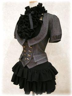 Black Dress & Jacket