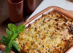 Λαχανόπιτα παραδοσιακή Lasagna, Ethnic Recipes, Food, Eten, Meals, Lasagne, Diet