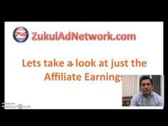 ZukulAd Network Affillate Compensation Plan by Karl Silva - YouTube