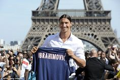 Zlatan Ibrahimovic is promising a surprise move for his next transfer after three years wi...