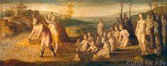 Domenico Beccafumi - Deukalion und Pyrrha