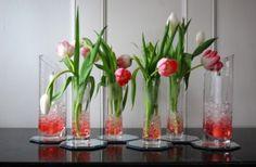 Love Challenge: Etched Vase Tablescape