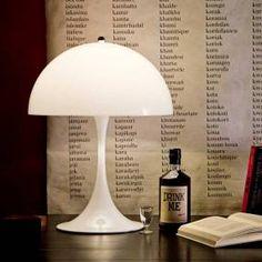 Panthella, table et lampadaire - Louis Poulsen