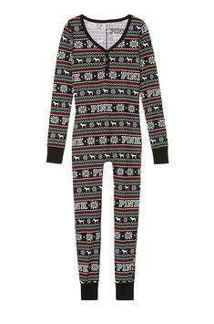 be56bd05e523 Victoria s Secret PINK Onesie Pajamas at Amazon Women s Clothing store