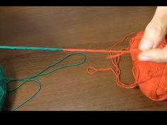 Как соединить две нитки без узла при вязании.. Link download…