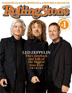 Led Zeppelin- Jimmy Page, Robert Plant, John Paul Jones Robert Plant, Led Zeppelin, Jimmy Page, Great Bands, Cool Bands, Dr Hook, Rolling Stone Magazine Cover, John Bonham, Greatest Rock Bands