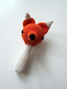 Cute fox rattle