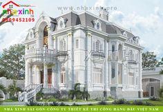 Mẫu thiết kế biệt thự cổ điển Architecture Artists, Classic Architecture, Architecture Details, Villa Design, Facade Design, Exterior Design, Classic House Design, Duplex House Design, Dream House Exterior