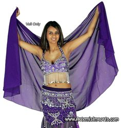 Belly Dance Clothing - Veils - Artemis Imports Belly Dance Store
