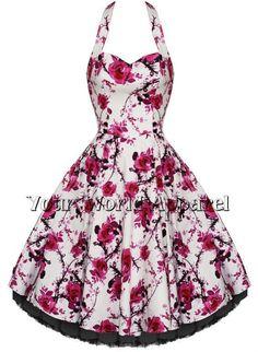 LIBRO MONDO day-girls-1940s Rosa floreale Avvolgere pinny /& Velo Costume