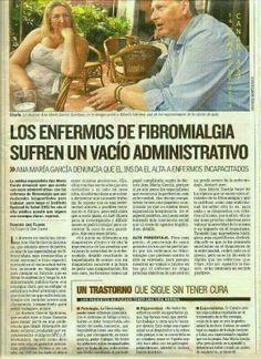 Una médico denuncia la situación de los enfermos de fibromialiga en España.