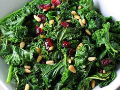 Make Melissa Costello's Kale Salad with Miso Dressing http://www.people.com/people/article/0,,20695008,00.html