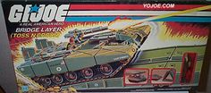 Tollbooth was first released available in late 1984 packaged exclusively with the Bridge Layer (Toss N Cross) as a Sears Exclusive.Tollbooth and the Bridge Layer (Toss N Cross) were released to mass r Gi Joe Vehicles, Jessica Alba Pictures, Toy Packaging, Old School Toys, Transformers Action Figures, Childhood Toys, Childhood Memories, 80s Kids, Classic Toys