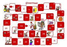* Sinterklaas ganzenbord! 1-4