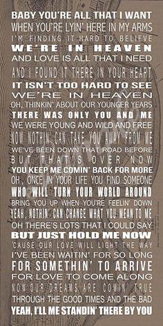Heaven lyrics
