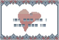 A personal favorite from my Etsy shop https://www.etsy.com/listing/203075668/modern-cross-stitch-love-pattern-i-love