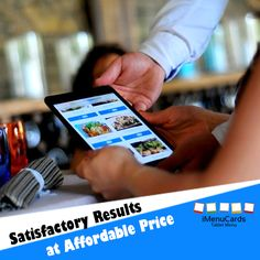 iMenucards offers the best tablet solutions for your restaurant, fast food joint or coffee house. Know more here: www.imenucards.in/  #iMenucards #TabletMenu