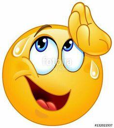 Vector illustration of smiley emoticon feeling tired. Love Smiley, Emoji Love, Cute Emoji, Smiley Emoji, Images Emoji, Emoji Pictures, Funny Pictures, Happy Emoticon, Emoticon Faces