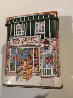 House tin by busybeeslifetime on Etsy ~ HAVE!