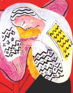 The Dream by Henri Matisse ---