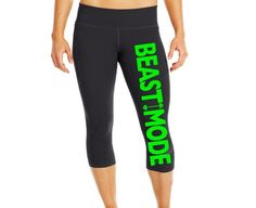 Beast Mode Pants -Amazon because I'm not hardcore enough for the real deal!