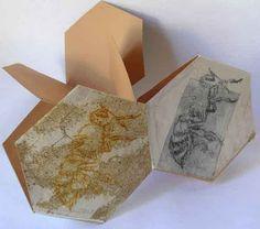 Gail Stiffe - 'Bee Hive' hexagon book