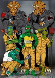 Prison turtles by LinART- I loved this episode