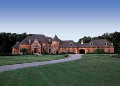 Yes, this could work!  :0)  French Country Estate - traditional - exterior - detroit - VanBrouck & Associates, Inc.