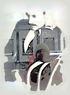 Selfie, skyltfönster MQ...
