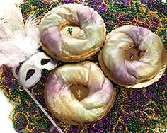 King Cake Recipe w/cream cheese filling