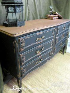 Refinished Frech Dresser by Gypsy Barnhttp://www.gypsybarn.com/