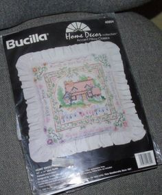 HOME SWEET HOME Stamped Cross Stitch Kit