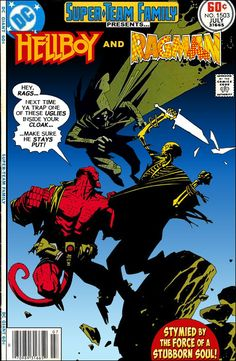 I am always happy to include an all-Mike Mignola cover on the blog.  He is such a master of light and shadow that his work looks equally g...