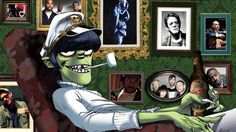 Image result for gorillaz high quality art