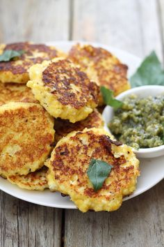 Ricotta, Parmesan and Feta Fritters - high protein and low fat!